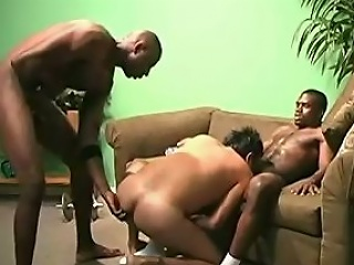 L.J., Ok, here this scene we have 2 black studs who are working out in...