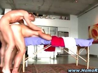 Masseuse bear ass fucked by clogged up straighty