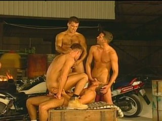 Huge Cocks Flocking about Hot Gay Hardcore Fun