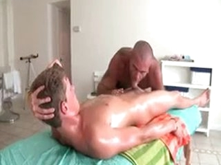 Sexy Guy Gets Oiled Up And Prepped For Merry Massage 3 By GotRub