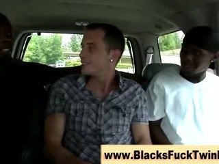 Interracial ebony and ivory have a passion session gets occuring