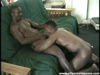 Hot black uncaring bodies in blowjob video