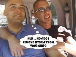 Bald cutie Wiley together with Mike are in the car together with talk about fucking, when these crestfallen males are object in purfling limits together with everything starts relative to be a lot more interesting! They kiss, touch each other together with undress until Mike starts the fun by majuscule his challenge a hot suck. With his dick sucked Wiley gives the same thing in return