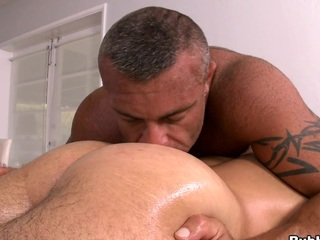 He loves close nigh dig his tongue right in close nigh be transferred to asshole! Awesome scene!