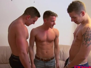 British gay jock threeway well provided for ending