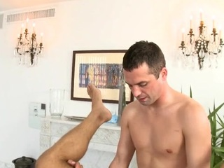 Hunk gets salacious anal branch of knowledge by way of massage